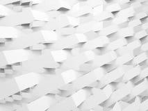 Modèle géométrique, double exposition ert 3d Photo libre de droits
