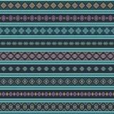 Modèle géométrique ethnique sans couture Images libres de droits