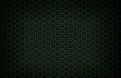 Modèle géométrique foncé abstrait des prismes Texture de grille de la géométrie La fleur de prisme figure le fond Maro rouge vert Photos stock
