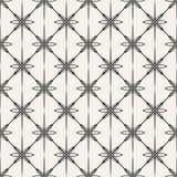 Modèle géométrique monochrome de vecteur abstrait de concept Fond minimal noir et blanc Calibre créatif d'illustration Image stock