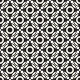 Modèle géométrique monochrome de vecteur abstrait de concept Fond minimal noir et blanc Calibre créatif d'illustration Photographie stock