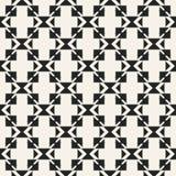 Modèle géométrique monochrome de vecteur abstrait de concept Fond minimal noir et blanc Calibre créatif d'illustration Images libres de droits