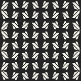 Modèle géométrique monochrome de vecteur abstrait de concept Fond minimal noir et blanc Calibre créatif d'illustration Photo stock