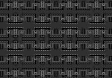 Modèle géométrique multicolore abstrait Dirigez la configuration sans joint illustration libre de droits