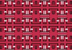 Modèle géométrique multicolore abstrait Dirigez la configuration sans joint illustration stock