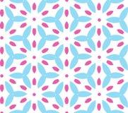 Modèle géométrique multicolore dans la couleur lumineuse Photos libres de droits