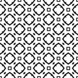 Modèle géométrique noir et blanc sans couture Photos libres de droits