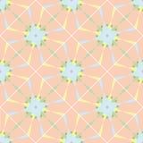 Modèle géométrique sans couture, éléments bleus Photographie stock libre de droits