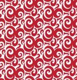 Modèle géométrique sans couture abstrait avec le fond floral Images stock