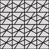 Modèle géométrique sans couture abstrait des canalisations de raccordement illustration libre de droits