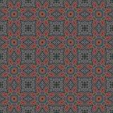 Modèle géométrique sans couture d'abrégé sur ethnique vintage Photo stock