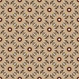 Modèle géométrique sans couture d'abrégé sur ethnique vintage Image stock