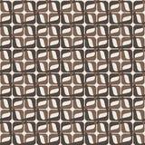 Modèle géométrique sans couture dans deux couleurs Images libres de droits