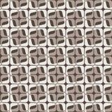 Modèle géométrique sans couture dans deux couleurs Photo libre de droits