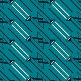 Modèle géométrique sans couture des lignes et des triangles diagonales illustration stock
