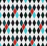 Modèle géométrique sans couture des losanges, illustration illustration de vecteur