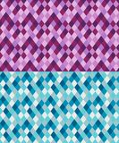 Modèle géométrique sans couture fait à partir des losanges Image stock