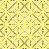 Modèle géométrique sans couture lumineux abstrait Image libre de droits
