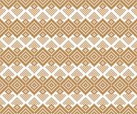 Modèle géométrique sans couture. Motif folklorique. Petit ornement. Photos libres de droits