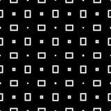 Modèle géométrique sans couture noir et blanc Photos libres de droits