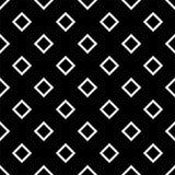 Modèle géométrique sans couture noir et blanc Photographie stock