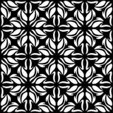 Modèle géométrique sans couture noir et blanc illustration libre de droits