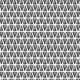 Modèle géométrique tiré par la main Images libres de droits