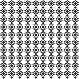 Modèle géométrique tribal tiré par la main de vecteur Le boho de couleur a dénommé le fond d'illustration illustration libre de droits