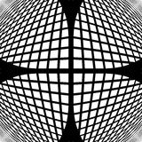 Modèle géométrique vérifié par monochrome de conception Image stock