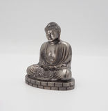 Modèle grand Bouddha ou argent de Daibutsu Photos stock