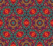 Modèle graphique coloré abstrait de vecteur de mosaïque Photos libres de droits