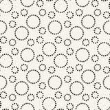modèle graphique d'impression de cercles à tiret géométriques photo libre de droits