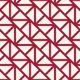 Modèle graphique minimal de vecteur de triangle géométrique de grille Photo libre de droits