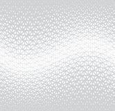 Modèle graphique minimal de vecteur de triangle tramée géométrique photo stock