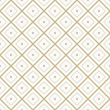 Modèle graphique minimal de vecteur de tuile géométrique sans couture de diamant illustration libre de droits