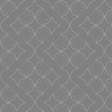 Modèle gris abstrait de fleur illustration de vecteur