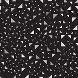 Modèle gris et noir de bonne triangle Backgroun sans couture de vecteur Photographie stock libre de droits