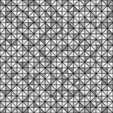 Modèle gris et noir de bonne triangle Vecteur sans joint Image stock