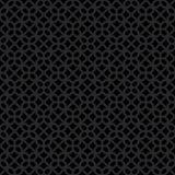 Modèle gris-foncé et noir géométrique décoratif sans couture abstrait Photos stock