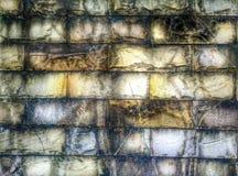 Modèle grunge abstrait de brique Photo libre de droits