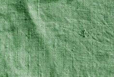 Modèle hessois de tissu de sac à couleur verte Image libre de droits