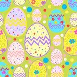 Modèle heureux de croquis de Pâques Photos libres de droits