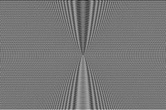 Modèle hypnotique blanc et noir d'illusion optique abrégez le fond Texture monochrome d'effet de problème illustration de vecteur