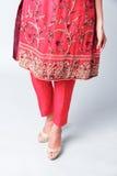 Modèle indien de robe image libre de droits