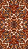 Modèle indien tribal ethnique géométrique Photos stock