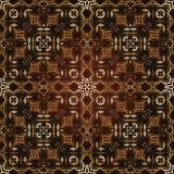 Modèle islamique géométrique sans couture Photo libre de droits