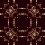Modèle islamique géométrique sans couture Photo stock