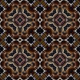 Modèle islamique géométrique sans couture Photos stock