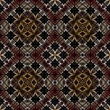 Modèle islamique géométrique sans couture Image libre de droits