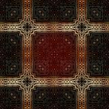 Modèle islamique géométrique sans couture Photos libres de droits